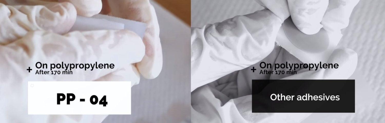 Come incollare le poliolefine e altri materiali plastici con bassa tensione superficiale?
