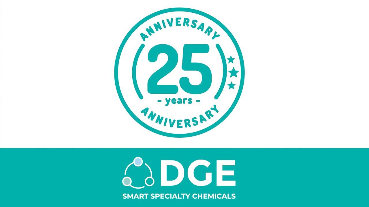 DGE compie 25 anni!